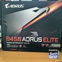 Gigabyte B450 AORUS ELITE Gaming Motherboard