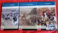 LAS BATALLAS DE SAN MARTÍN 6 LIBROS Y DVDS