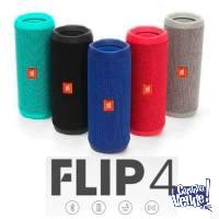 JBL FLIP 4 PARLANTES BLUETOOTH SUMERGIBLE 12HS DE MUSICA