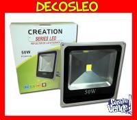 Reflector Led Blanco 50w P/exterior 120º Ip66 bajo consumo