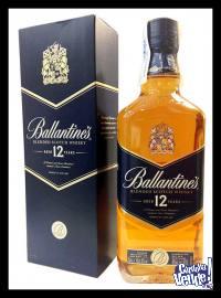 BALLANTINES 12 AÑOS - WHISKY - (750 ML)