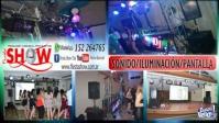 Sonido e Iluminación y pantalla Dj 15 Años