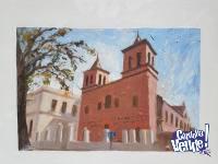 Iglesia Compañia de Jesús, Córdoba (Cuadro al Óleo)
