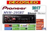 Stereo Pioneer 295 Bt Usb Aux Am/fm Bluetooth ORIGINAL 2018