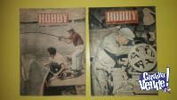 REVISTA HOBBY. LOTE 1 CON 4 EJEMPLARES. AÑOS DE 1960