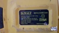 Martillo demoledor electrico dewalt 1600w 50j 9.8kg