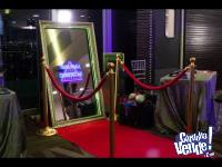 Alquiler de Espejo Magico - Cabinas de Fotos Crash
