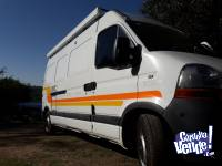 Motorhome Renault Master 2012 impecable poco uso