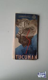 ANTIGUO MAPA DE TUCUMAN DEL A.C.A.  $ 490