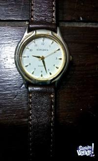 Reloj de dama con maya y pila nueva. citizen
