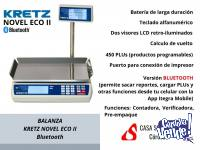 Balanza Kretz Novel Eco 2 31kg batería Bluetooth Córdoba