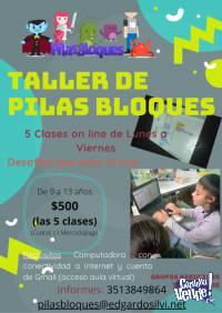 Taller on line de Programación para niñas/niños