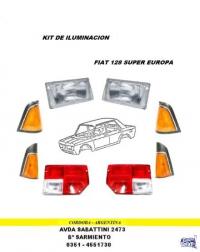 PLASTICO TRASERO FIAT 128 SUPER EUROPA