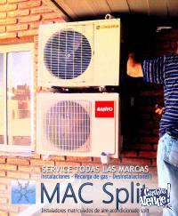 MAC Split. Service de aire acondicionado split en Córdoba