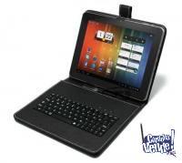 Funda Con Teclado Para Tablets Android Pc 7 7 Pulgadas +