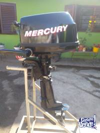 MOTOR MERCURY HP 4T IMPECABLE!!