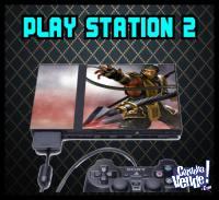 SKIN PS2 + 2 skins joystick (LAMINA DECORATIVA PARA CONSOLA)