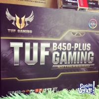 ASUS TUF B450-PLUS GAMING MOTHERBOARD