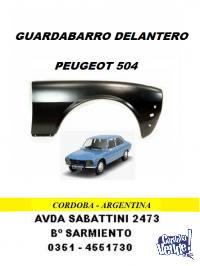 GUARDABARRO DELANTERO PEUGEOT PICK-UP 504