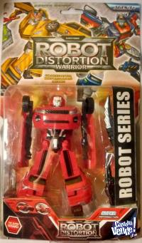 TRANSFORMERS CAMIONETA COLOR ROJO