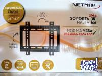 Soporte Televisor Smart Led Lcd 23 A 42 Fijo Netmak St03