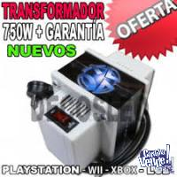 Transformador 750 W. Xbox360 Playstation3 Lcd Trafo Ps3 Wii