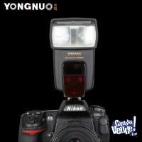 Flash Yongnuo Speedlite 568ex III TTL Garantia CANON TARJ 12