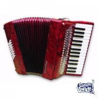 Acordeon A Piano Heimond Yjp-3780 B, 37 Teclas 80 Bajos