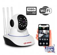 Camara Seguridad Ip Wifi Inalambrica Motorizad P2p Hd 360°