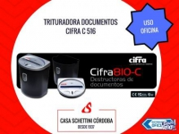 Destructora Documentos trituradora Cifra 810c Oficina C�rdo