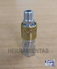 Acople de aire para manguera de compresor de aire