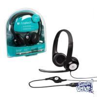 Auricular Usb Headset Logitech H390 Micrófono 3.5mm Miniplu