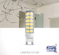 Bipin G9 Led 6w Luz Calida 6,3cm 75 Leds Macroled 220v