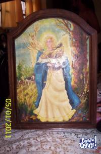 cuadro de la colección de Magdalena Najle, Ángel del Pan
