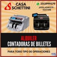 Alquiler Maquina Contadora De Billetes Córdoba x 24hs