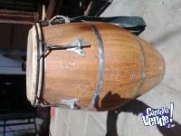 tambor Repique de Candombe marca Tres Pelos Uruguay