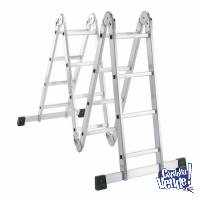 ESCALERA PLEGABLE ALUMINIO 4X4 4.75M SCALA