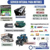 Servicio Integral De Reparación Para Motores Diésel