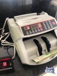 Contadora De Billetes Maquina Detector Falsos Doble Display