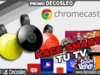 Google Chromecast 2 Smart Tv Usb Android Hdmi Retira Centro
