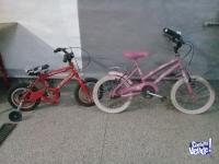 2×1 dos bicis para niños a reparar