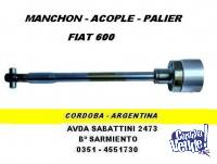 MANCHON ACOPLE  PALIER DIRECCION FIAT 600