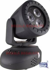 Cabezal Movil 6watts Led Beam Moving RGB DJ