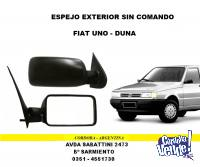 ESPEJO EXTERIOR FIAT DUNA - UNO SIN COMANDO