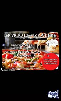 PIZZA LIBRE - SIERRAS CHICAS CATERING