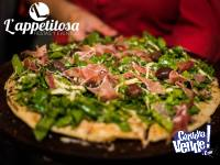 PIZZA PARTY, PIZZA LIBRE A LA PARRILLA, BARRA DE TRAGOS