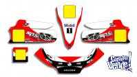 Kit Calcos Karting Holden Laminado 3m Estandar