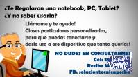 Aprende a Operar la PC, tablet o notebook