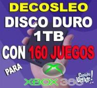 discos duros un tera 1000 con 160 juegos RGH FIFA19 MINECRAF