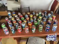 Latas de colección - Gaseosas y Cervezas